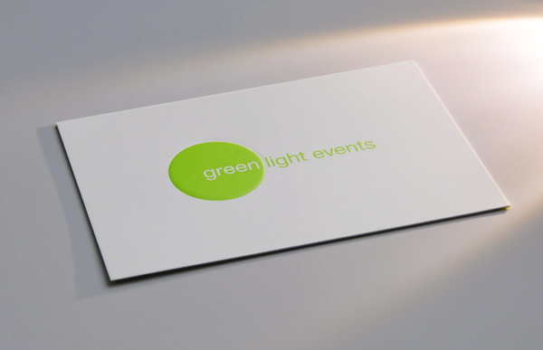 Green Light Events Business Card